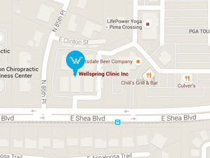 Wellspring Clinic Map